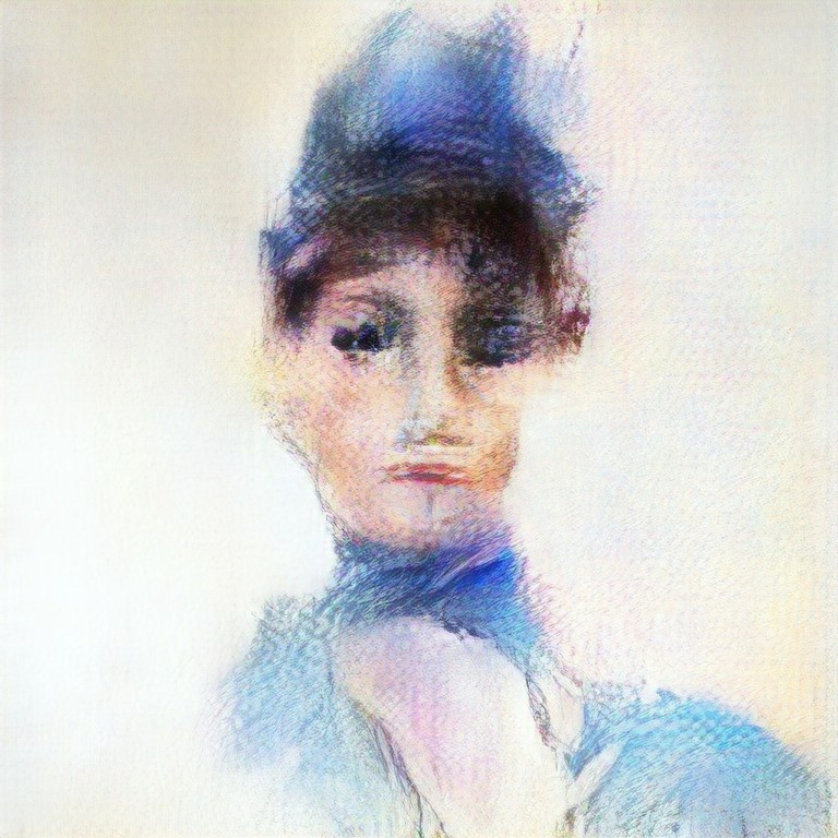 Madame de Belamy, 'mother' of Edmond Belamy