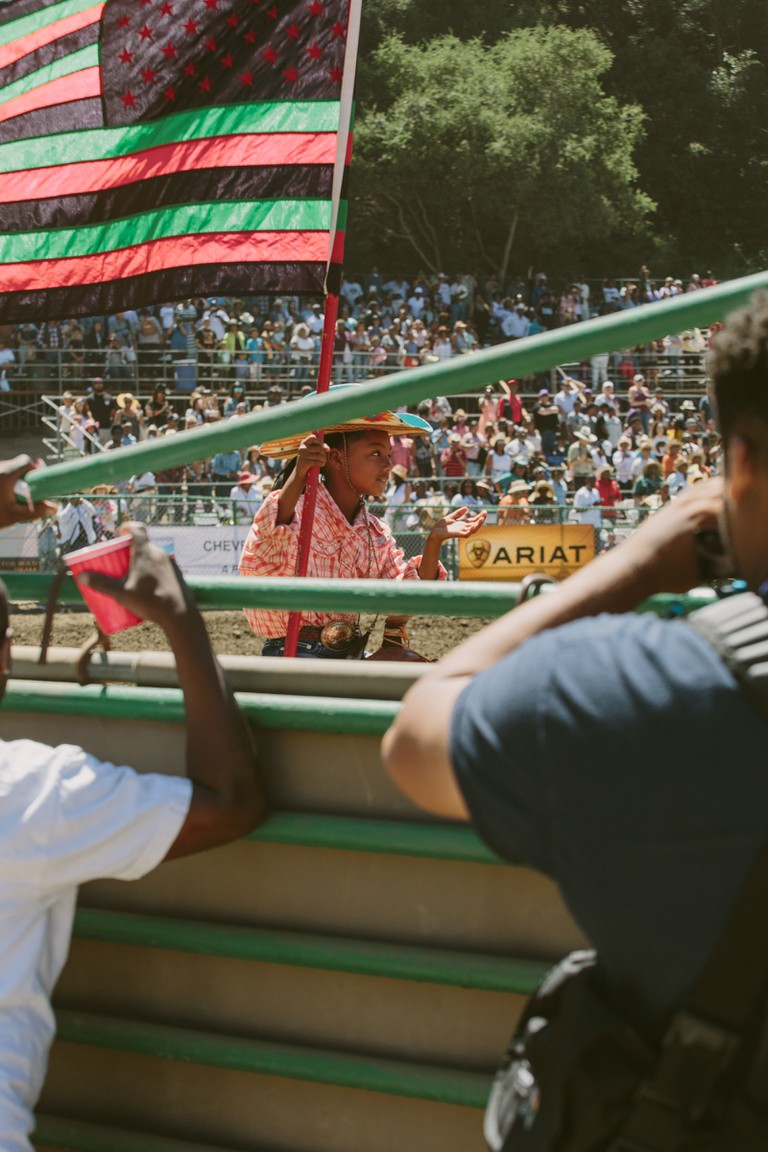 Participants and spectators range in age at the 2018 Bill Pickett Rodeo in Oakland, California