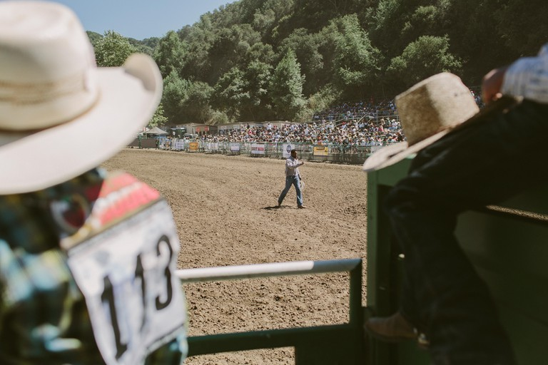 The 2018 Bill Pickett Rodeo in Oakland, California