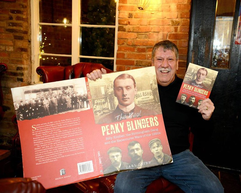 Peaky Blinders tour with Carl Chinn MBE