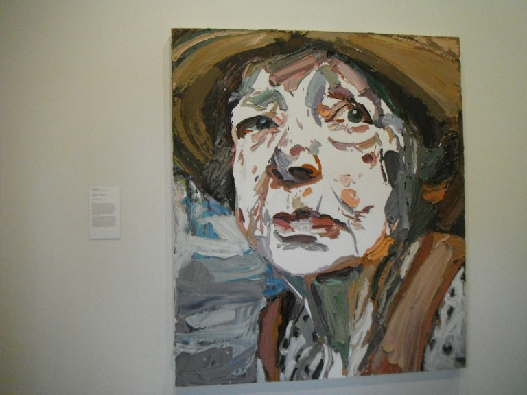 Portrait of Margaret Olley entered in the 2011 Archibald Prize © RubyGoes / Flickr