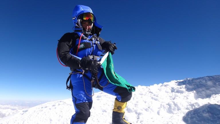 Moharrak conquered Everest in 2013