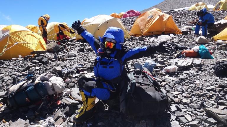 Raha forst saudi woman to climb everest 12