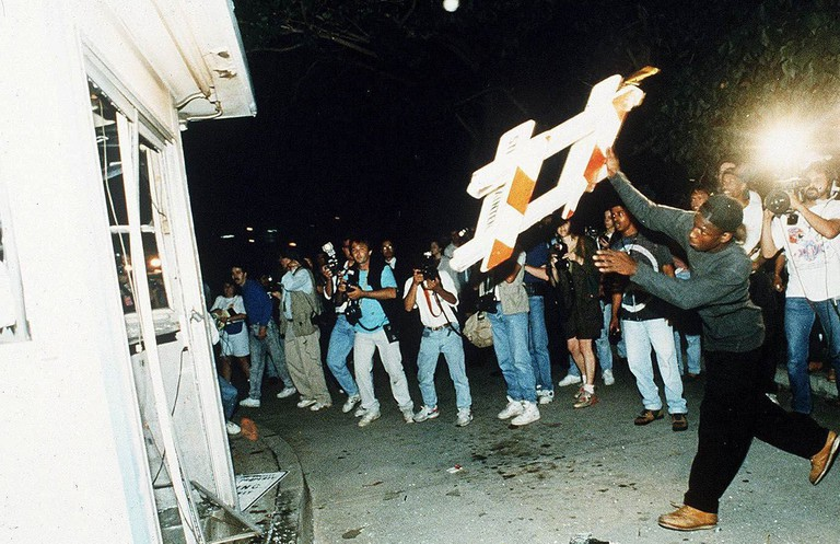 Riots in Los Angeles, 1992