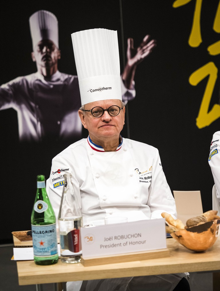 Bocuse d'Or gastronomic competition grand final in Lyon, Hungary.