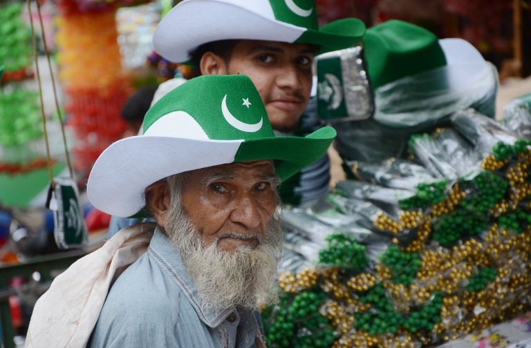 Preparations for the 70th National Day, Lahore, Pakistan, 2017
