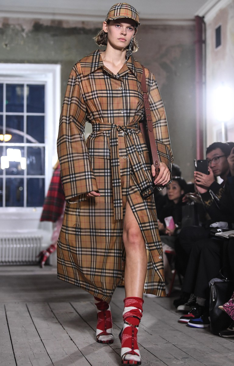 Burberry Show, Runway, Spring Summer 2018, London Fashion Week, UK