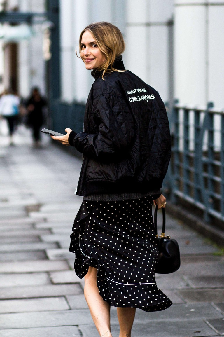 Pernille Teisbaek, Street Style, Spring Summer 2018, London Fashion Week