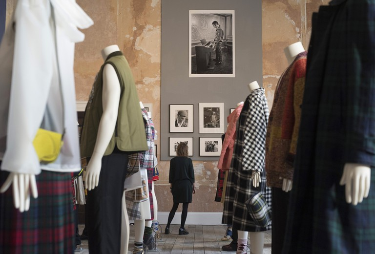 Burberry Photographic Exhibition 'Here We Are' at Old Sessions House, London, UK