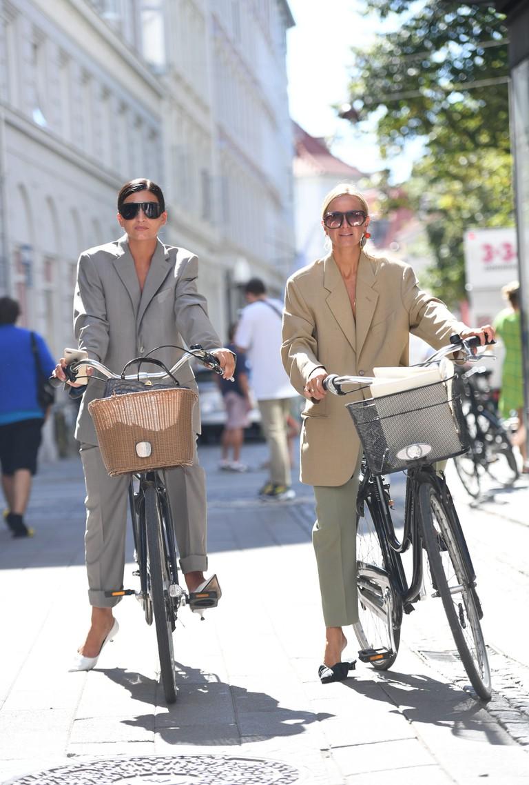 Street Style, Spring Summer 2019, Copenhagen Fashion Week, Denmark