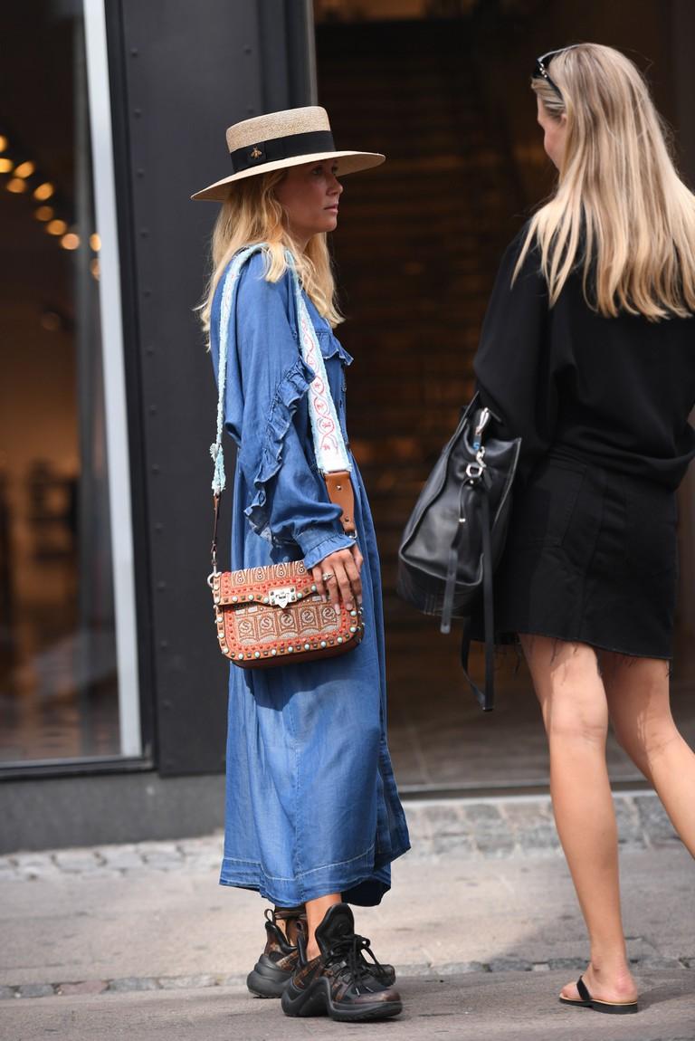 Street Style, Copenhagen Fashion Week, Denmark 2018