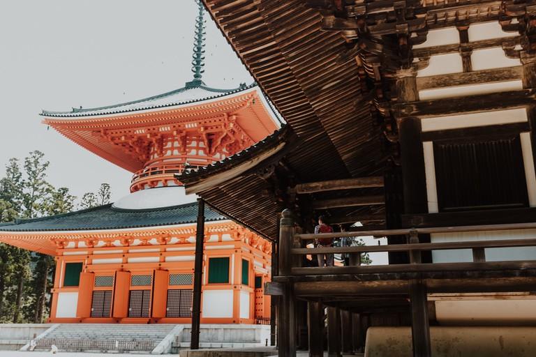 Danjō-Garan temple complex-Mount Koyasan-Japan