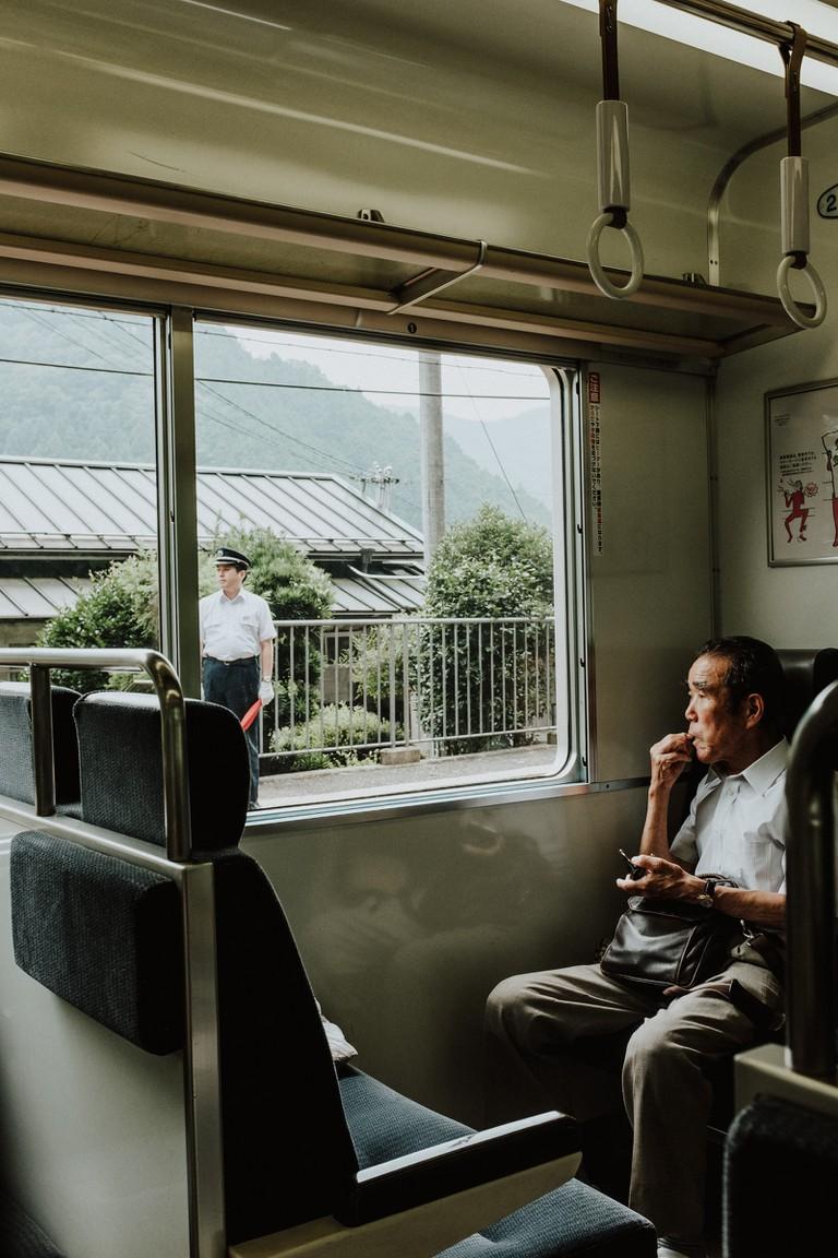 Gokurakubashi funicula-Mount Koyasan-Japan