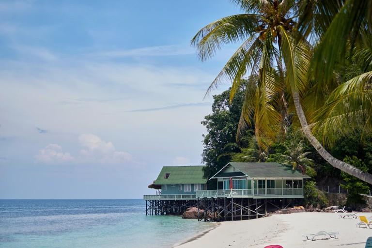 Rawa Island in Mersing District, Johor, Malaysia.