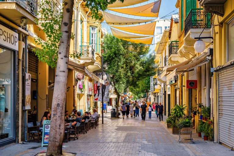 Ledra street, Nicosia, Cyprus