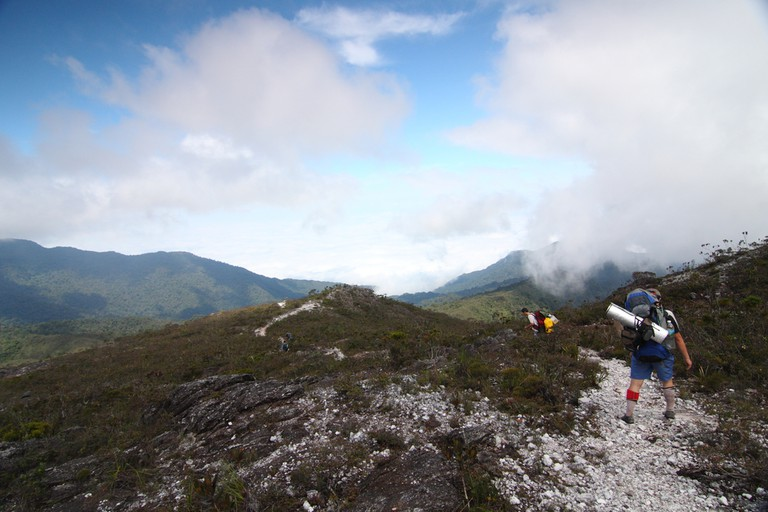 Most hikers take at least four days to climb Mount Tahan