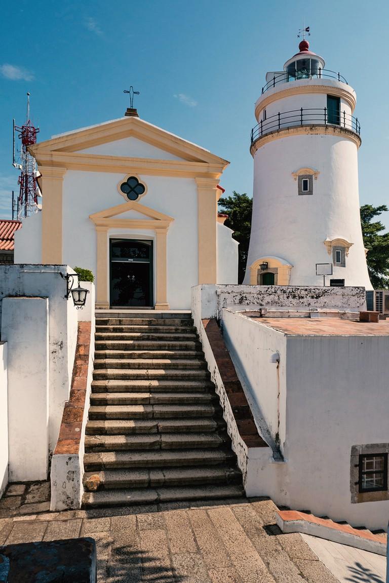 Guia Fortress lighthouse, Macau