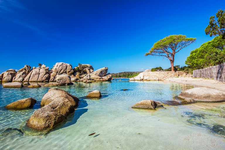 Palombaggia beach, Corsica, France | © gevision / Shutterstock