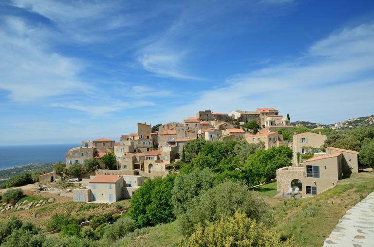 The quaint traditional village of Pigna in Corsica |© Oleg_Mit / Shutterstock