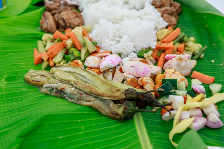 Boodle Fight, Philippine Cuisine Culture