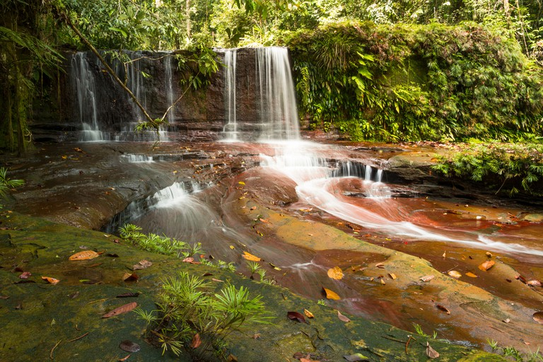 Waterfall, Lambir Hill, Malaysia