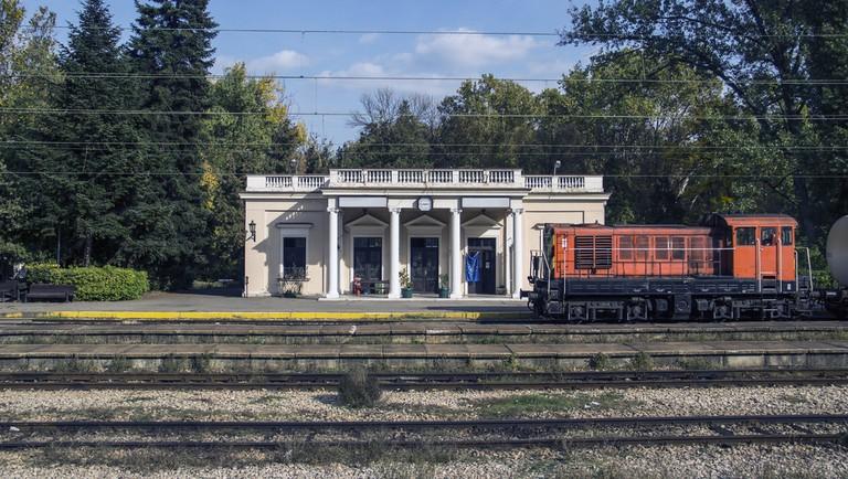 Topcider Railway Station, Belgrade, Serbia.
