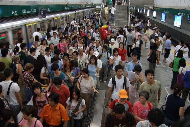 Taipei MRT H.T. Yu Flickr