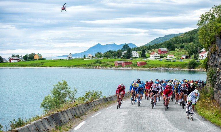 The 2017 Arctic Race, © Rune Dahl / ARN, Courtesy of Arctic Race Norway