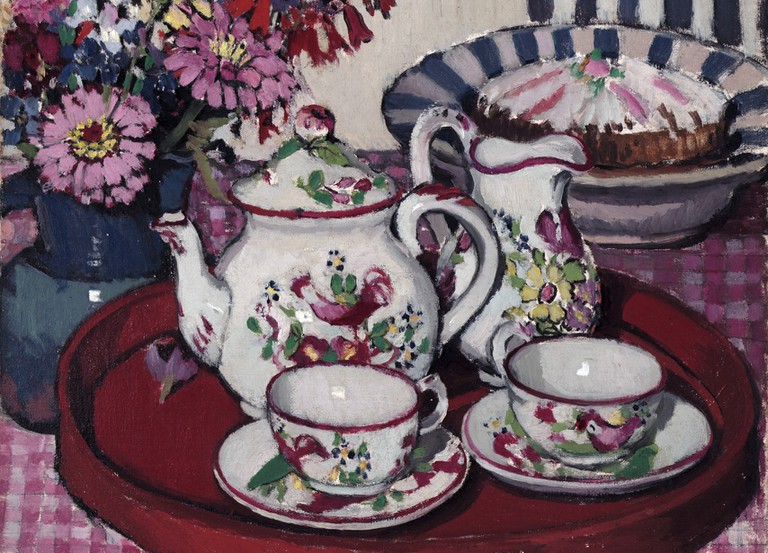 'Thea Proctor's tea party' by Margaret Preston © Irina / Flickr