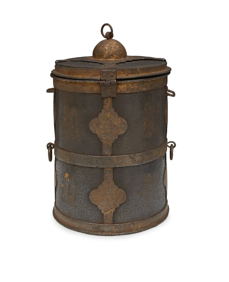 Tsampa container, Tibet, 16th- or 17th-century