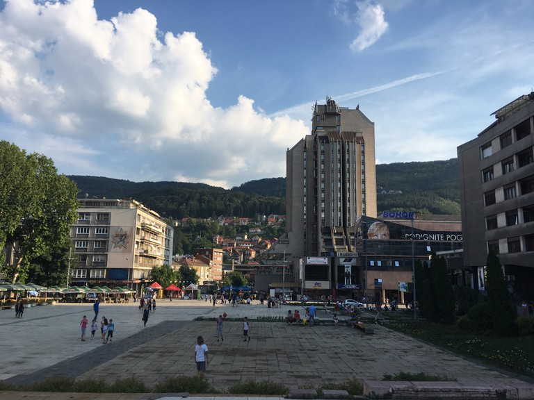 The main square in Užice