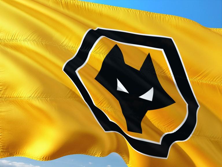 Wolverhampton Wanderers flag