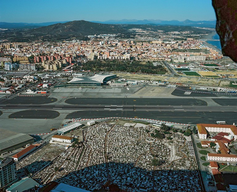 Gibraltar's airport is often listed in the top 10 most dangerous in the world. Winston Churchill Avenue leads from the main town to the border and crosses the runway. It has to be closed when planes come in to land