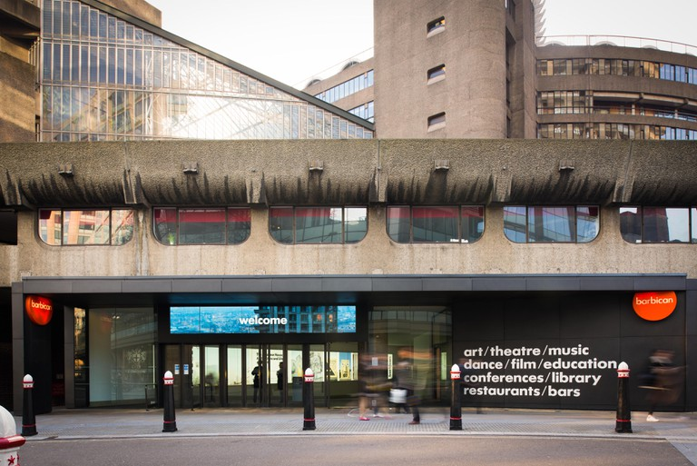 Silk Street Entrance, Barbican Centre
