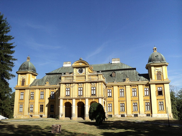 The Pejačević family mansion in Našice, Croatia