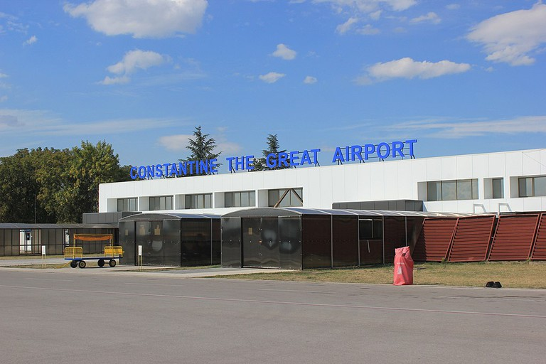 The delightfully functional airport in Niš, Serbia
