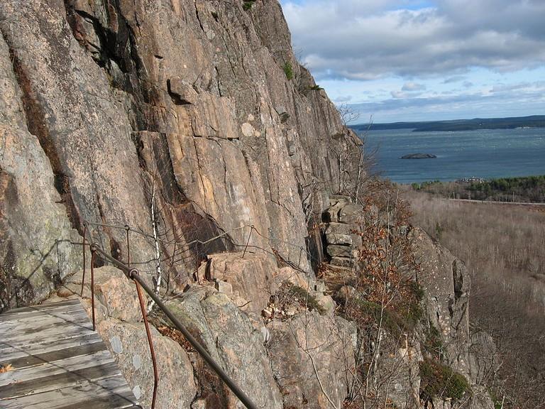 Precipice Trail, Acadia National Park