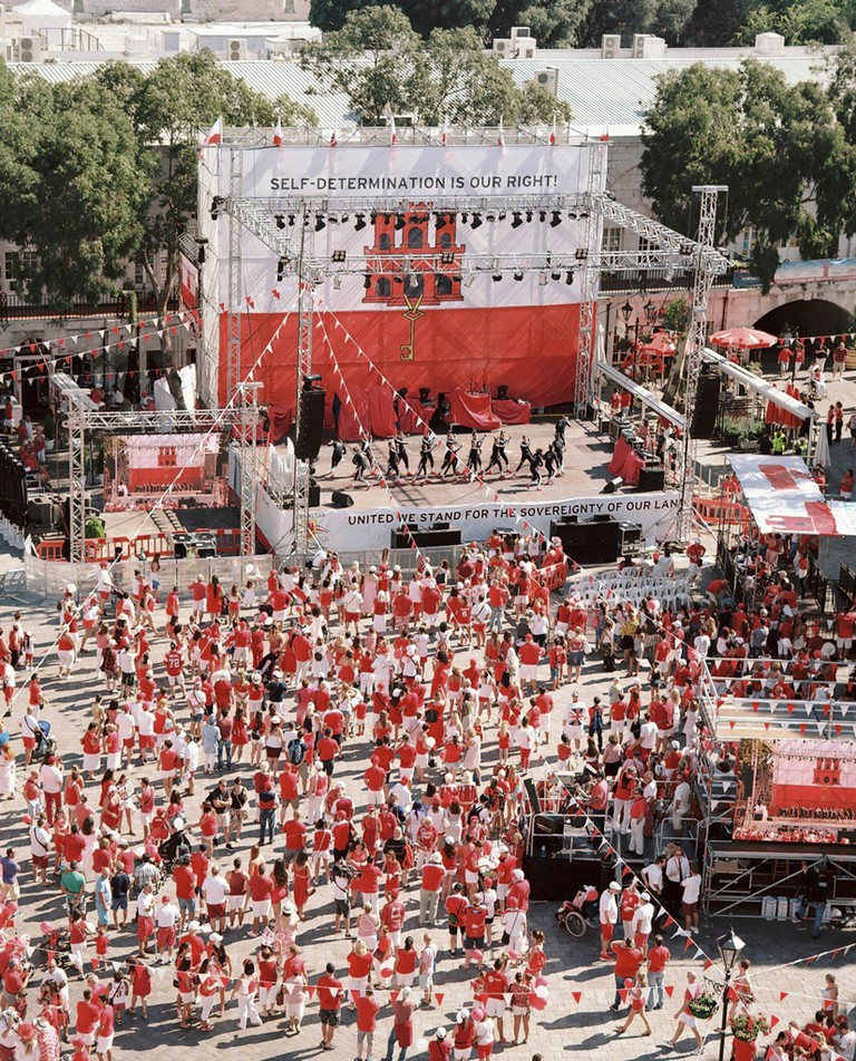 National Day is celebrated on September the 10th, it commemorates the 1967 referendum where Gibraltarians voted by close to a 100% to remain British