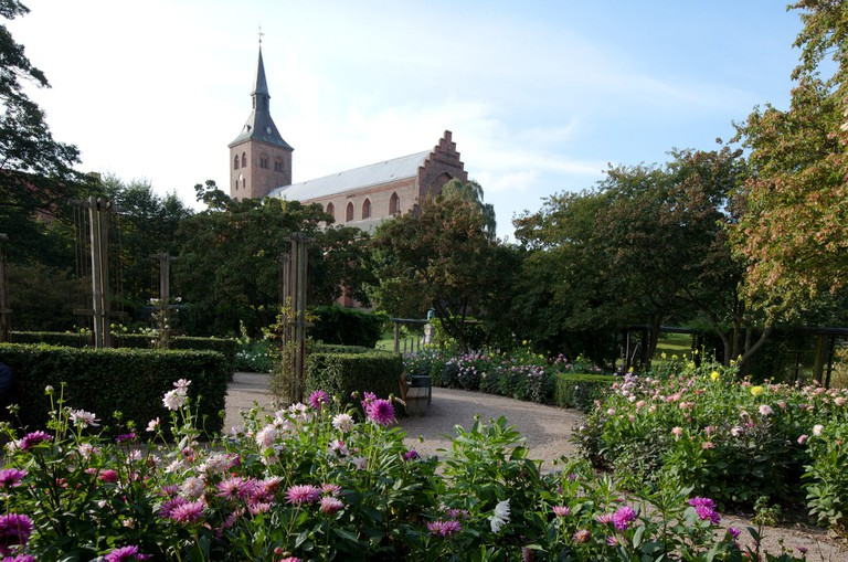 Odense Cathedral-Fyn Island