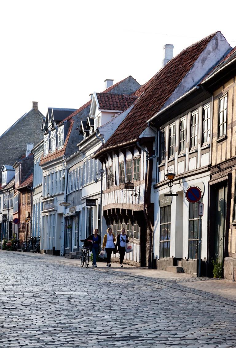 Street-buildings-Odense-Fyn