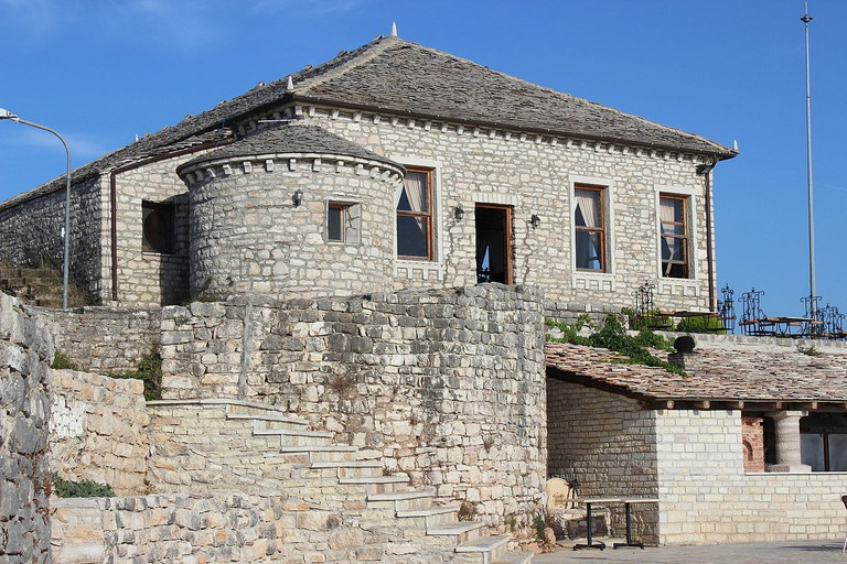 The Castle of Lekursit is one of the most important sites in south Albania