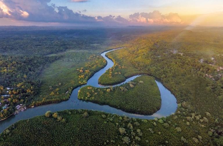 Bohol's mighty Abatan river