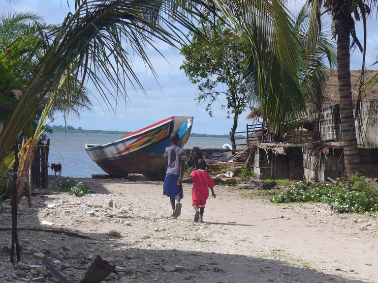 Kids in Ziguinchor, Casamance