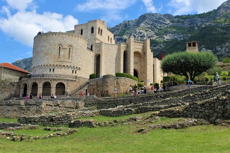The Skanderbeg Museum in Kruja, dedicatd to the greatest national hero of all times, George Kastriota Skanderbeg