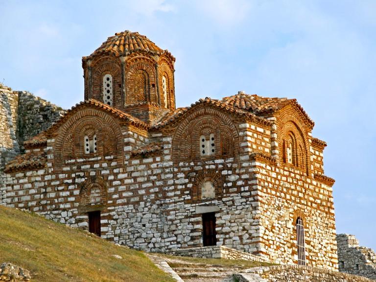 The beautiful Holy Trinity Church in Berat