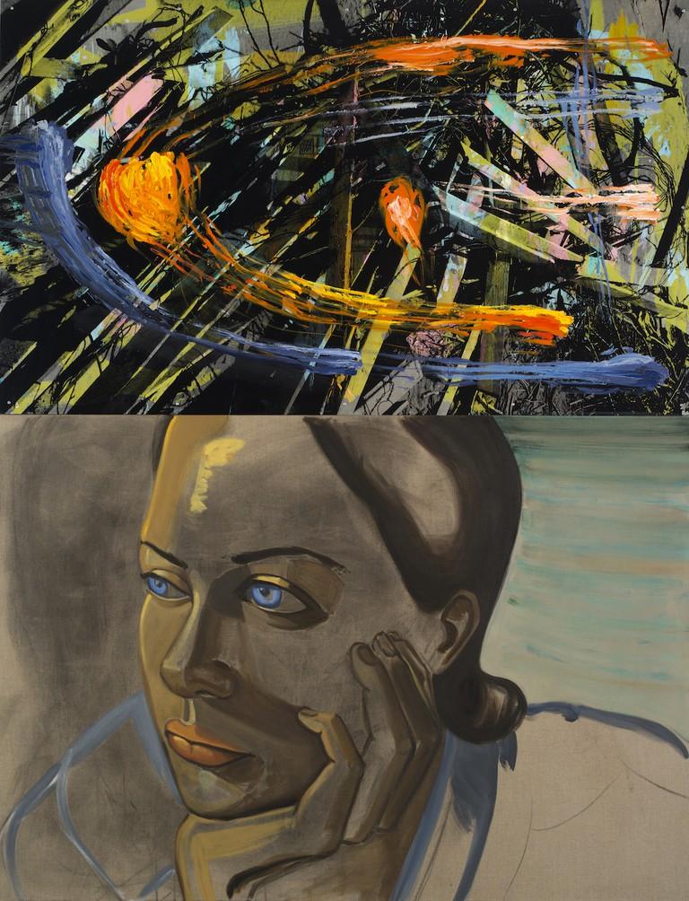 David Salle, 'Solar System' (2013)