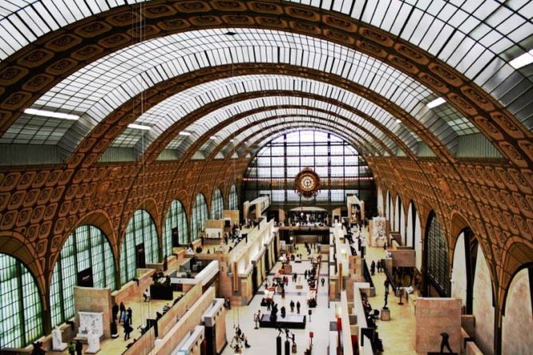 The Musée d'Orsay's interior
