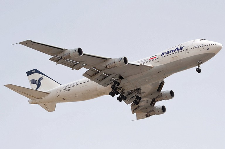 An IranAir aircraft