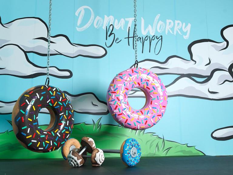 Doughnut dumbbells, anyone?