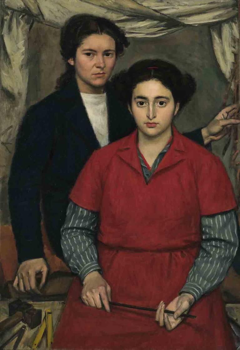 Yannis Moralis, 'Two Friends', 1946
